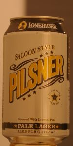 Saloon Style Pilsner