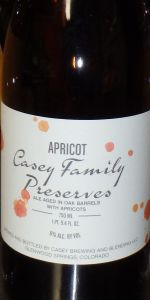 Casey Family Preserves - Apricot