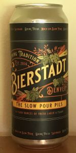 Slow Pour Pils
