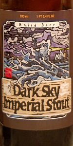 Dark Sky Imperial Stout