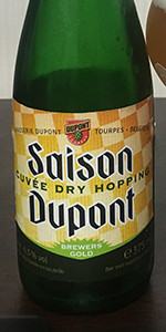 Saison Dupont Cuvee Dry Hopping 2016 (Brewer's Gold)