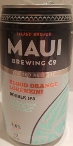 Blood Orange Lorenzini Double IPA
