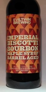 Imperial Biscotti Bourbon Maple Syrup Barrel-Aged