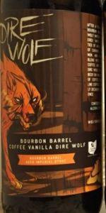 Bourbon Barrel Coffee Vanilla Dire Wolf