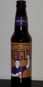 Double Brown Throwdown Imperial Brown Ale