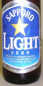Sapporo Light Beer