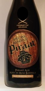 Special Reserve Piraat Ale Aged In Rum Barrels