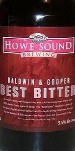 Baldwin And Cooper Best Bitter