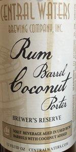 Brewer's Reserve Rum Barrel Coconut Porter