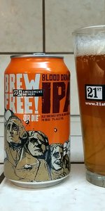 Brew Free! or Die Blood Orange IPA