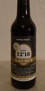Black Out Whiskey BA