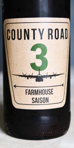 County Road 3 Farmhouse Saison