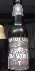 Bourbon-Barrel Aged Unearthed