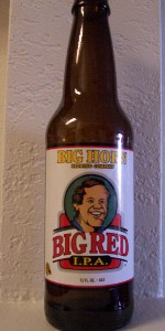 Big Horn Big Red IPA
