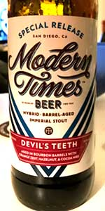 Devil's Teeth - Bourbon Barrel-Aged - Orange Zest And Cacao Nibs