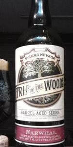 Trip In The Woods: Narwhal (Bourbon Barrel-Aged With Red & Black Currants)