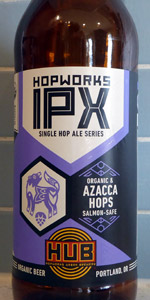IPX Single Hop Ale - Azacca