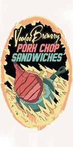 Pork Chop Sandwiches