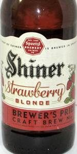 Shiner Strawberry Blonde Brewer's Pride Craft Brew No. 7