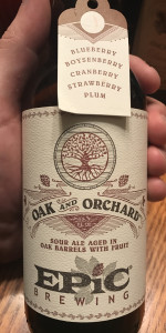 Oak And Orchard - Blueberry, Boysenberry, Cranberry, Strawberry and Plum