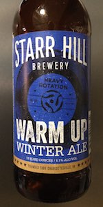 Warm Up Winter Ale (Heavy Rotation Series No. 4)