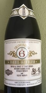 Collaboration No. 6 - Barrel Aged Blend