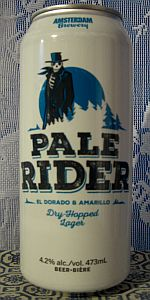 Amsterdam Pale Rider Dry Hopped Lager
