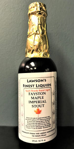Apple Brandy Barrel Aged Fayston Maple Imperial Stout