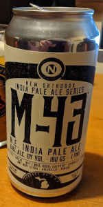 M-43 N.E. India Pale Ale