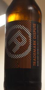 Trademark Dispute Brown Label (Vanilla)