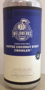 Coffee Coconut Stout