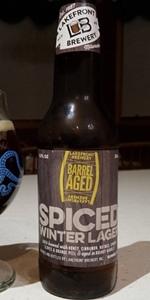 Brandy Barrel-Aged Spiced Winter Lager