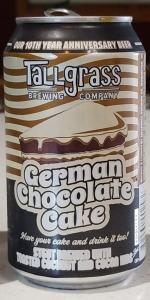Buffalo Sweat - German Chocolate Cake