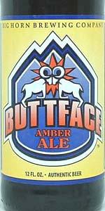 Big Horn Buttface Amber Ale