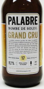 Palabre Bombe De Soleil Grand Cru 17