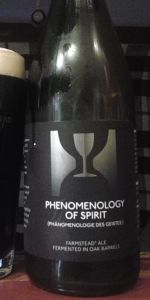 Phenomenology Of Spirit (2014)