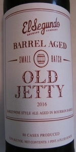 Barrel Aged Old Jetty