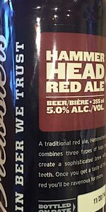 Hammerhead Red Ale