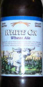 White Ox Wheat Ale