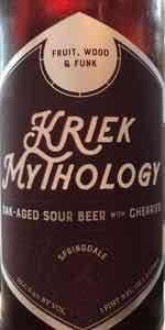 Kriek Mythology   Springdale Barrel Room   BeerAdvocate