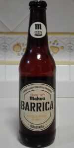 Mahou Barrica Original