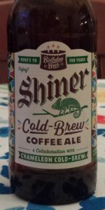 Shiner Birthday Beer 108 - Cold Brew Coffee Ale