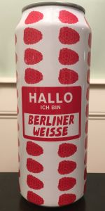 Hallo Ich Bin Berliner Weisse - Raspberry