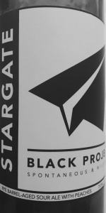 Stargate | Black Project Spontaneous & Wild Ales | BeerAdvocate