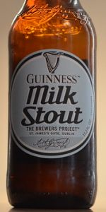 Guinness Milk Stout: The Brewers Project