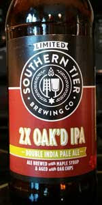 2X Oak'd IPA Double India Pale Ale