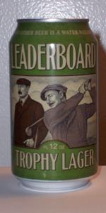 Leaderboard Trophy Lager