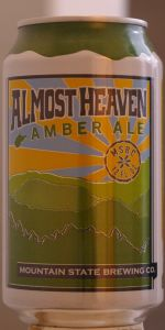 Almost Heaven Amber Ale