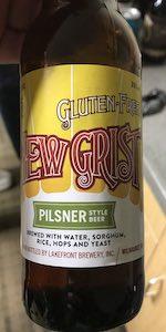 New Grist Gluten-Free Pilsner Style Beer