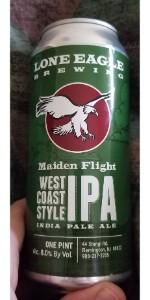 Maiden Flight West Coast IPA